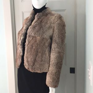 French rabbit fur jacket. Lined.